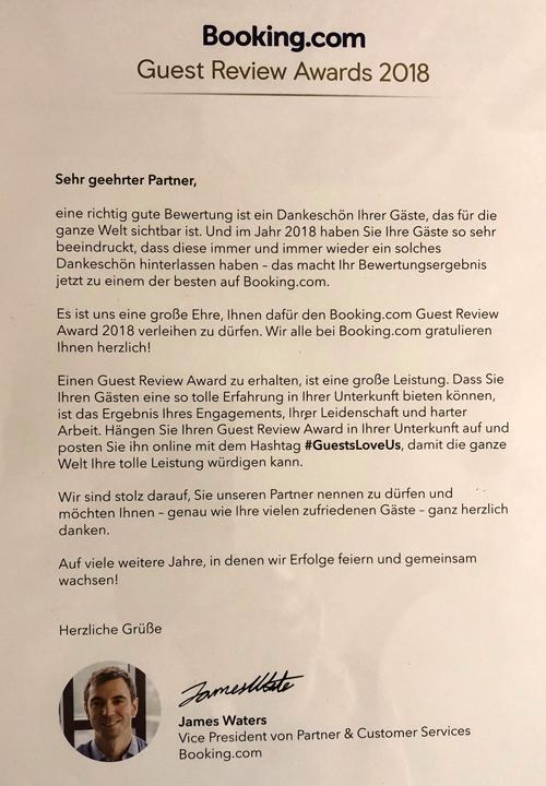 Guest Award